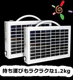 マイクロ太陽光発電BOX